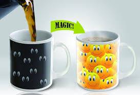 Smiley Face Coffee Mug Amazoncom Cortunex Funny Smiley Faces Heat Sensitive Color