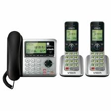 Vtech Cs6649 2 Dect 6 0 Expandable Corded Cordless Phone System