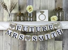 Future Mrs Banner, Bridal Shower Banner, Bachelorette Banner, Engagement  Banner