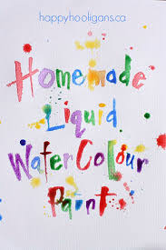 quick crafts for kids to make diy watercolor paintsfun outdoor crafts for kids