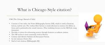 Chicago Style Citation Styles Libguides At Cossatot Community