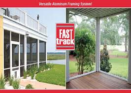 screen porch systems. Fast Track Versatile Aluminuim Framing System Screen Porch Systems N