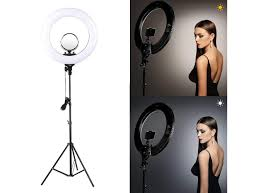 Big Ring Light With Stand Jikra 18 Inches Led Ring Light With Stand For Camera Smartphone Youtube Video Shooting And Makeup Dimmable 2700 5500k Studio Lighting With Phone
