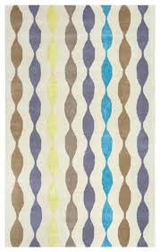 gillespie avenue geometric modern wool rug brown contemporary area rugs by super area rugs