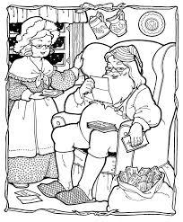Small Picture Santa Christmas Printable Coloring Pages Coloring Coloring Pages
