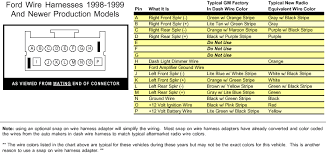 ford taurus wiring diagram radio ford wiring diagrams online