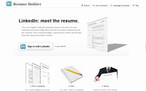 Resume Builder Linkedin Haadyaooverbayresort Com