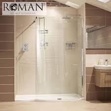 Roman Shower Designs Walk In Showers And Walk In Shower Enclosures Roman Showers