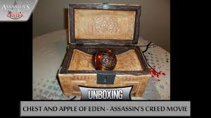apple of eden. assassin\u0027s creed movie   2016 unboxing chest and apple of eden