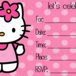 invitation card hello kitty invitation card hello kitty pin loucel baron on invites pinterest