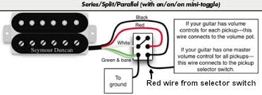 4 wire humbucker wiring diagram telecaster guitar forum