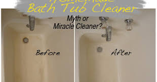 tried and twisted myth or miracle cleaner series clean your bath tub with vinegar