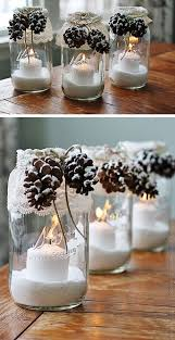 Ideas For Decorating Mason Jars For Christmas 100 DIY Mason Jar Christmas Gifts Ideas DIY Christmas Pine cone 10