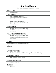Microsoft Word Resume Template 2010 Resume Word Bill Of Sale Template And Resume Professional