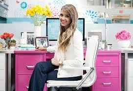 Honestly Chic: Jessica Alba\u0027s Office Style Decorate Office Jessica One Kings Lane