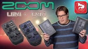 <b>ZOOM</b> U-24 и <b>ZOOM U</b>-<b>44</b> - новые ручные <b>аудиоинтерфейсы</b> ...