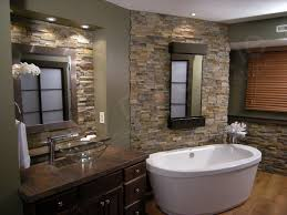Bathroom Stone For Modern Concept Stone Bathroom Design With Large - Tv for bathrooms