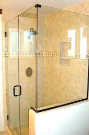 glass shower installation cost of doors door ranch frameless doo