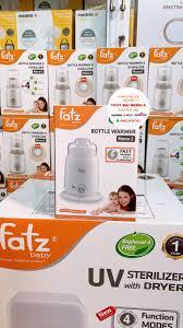 Máy hâm sữa fatz 4 chức năng (fb3002sl) hâm thức ăn, tiệt trùng, hâm nước  pha sữa, giữ nóng, vắt cam - máy tiệt trùng và ủ bình sữa fatz baby cho