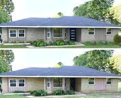 painted brick houses before and after curb appeal 8 stunning before