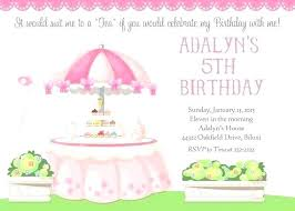 tea party invitations free template high tea party invitations template free birthday unique