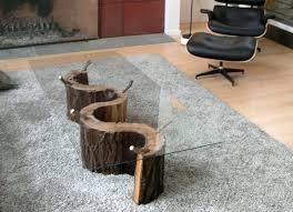 sofa impressive tree trunk coffee table for 2 stump ellen