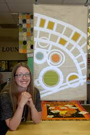 Quilt design strips Chaco Canyon down to its essential geometry ... & Quilt design strips Chaco Canyon down to its essential geometry |  Albuquerque Journal Adamdwight.com