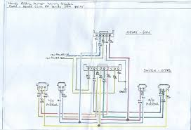 power folding mirrors wiring diagram and yes i searched honda tech i got mine 8 wires because it has an optional heated mirror as well i didn t hook up the heated mirror because i don t have the right switch for it
