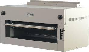 vulcan 36esb 240 4 500 watt electric salamander broiler countertop