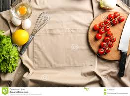 Wooden Board With Vegetables On Kitchen Table Stock Photo Image
