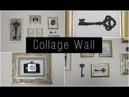 how to create a collage wall you