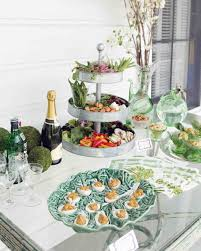 Wedding Food Tables 20 Delicious Bites To Serve At Your Bridal Shower Martha Stewart