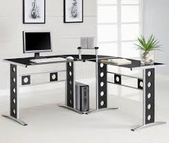 furniture unique and stylish white modern home office desks with
