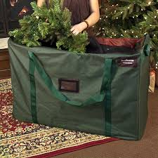 Christmas Tree Storage Bags like this one from treekeeperbag.com are a  great way to