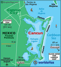cancun map map of cancun, cancun outline map world atlas Map Of Usa And Cancun Mexico map of cancun map of us and cancun mexico