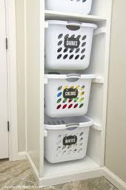 attractive laundry storage solutions 1 organizer sorter