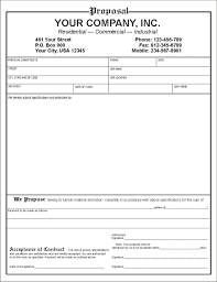 free business proposal template our estimate