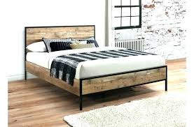 iron bed frames king – INDOCRAFT