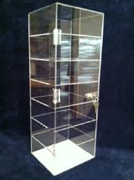 cbd oil display 8 x 7 x 22 5 acrylic countertop display case showcase