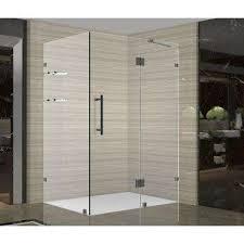completely frameless shower