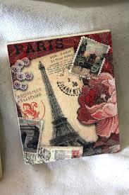 Decorative Tile Coasters Paris romance decoupage decorative tiles coasters by CatHot 11