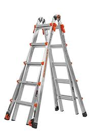 Ladder Ratings Chart Little Giant 22 Foot Velocity Multi Use Ladder 300 Pound Duty Rating 15422 001