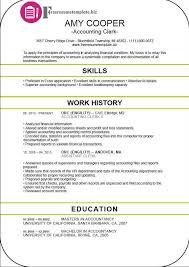 Accounts Clerk Resume Accounting Clerk Resume Template Free Resume Templates