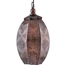 antique oval moroccan hanging ceiling lamp antique copper finish hanging pendant light