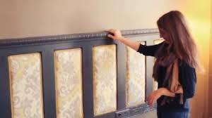 Five Panel Door Headboard Make An Upholstered Headboard Buildipedia Diy Youtube