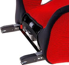 <b>Автокресло Siger Бустер изофикс</b> красный, 22-36 кг купить в ...