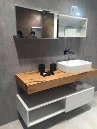 Bathroom Cabinets Solid Wood Floating Wooden Bathroom Vanity