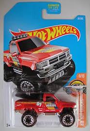 Hot Wheels 2017 HW Hot Trucks 1987 Toyota Pickup Truck 82/365, Red ...