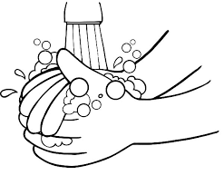 Small Picture Kid Want To Washing Hand Coloring Pages Coloring Sun 16931
