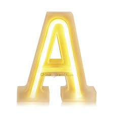 Dropshipping For Small Letter Number Led Lamp Light Wedding Party